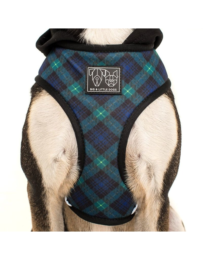 Big and Little Dogs Big and & Little Dogs Hoody Harness Green With Envy