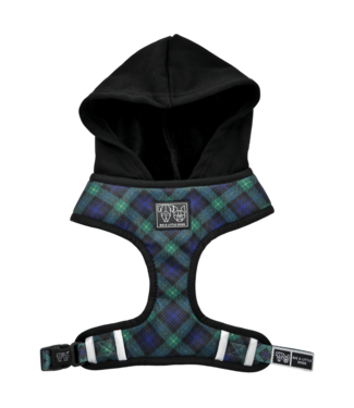 Big and Little Dogs Big and Little Dogs Hoody Harness Green With Envy
