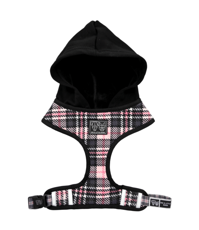 Big and Little Dogs Big and Little Dogs Hoody Harness Pretty In Pink