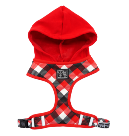 Big and Little Dogs Big and Little Dogs Hoody Harness Roaring Red