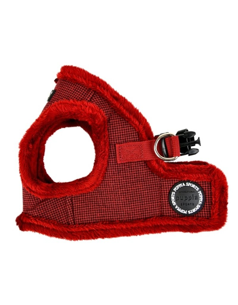 Puppia Puppia Harness B Puppytooth Wine