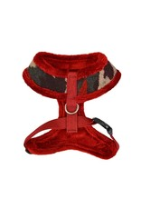 Puppia Puppia Colonel Harness Model A Wine Camo