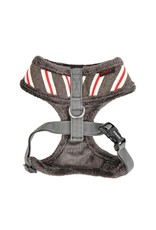Puppia Puppia Rowdy Harness Model A Dark Grey