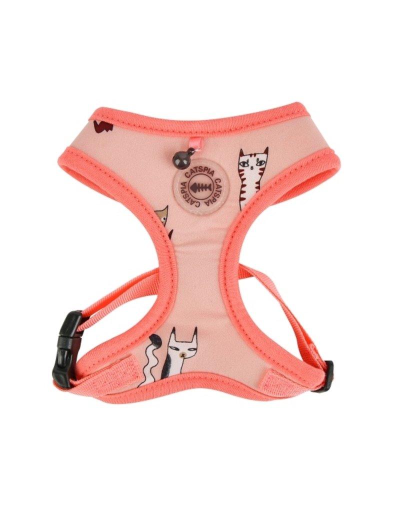 Catspia Catspia Katten Tuigje Calypso Harness Indian Pink