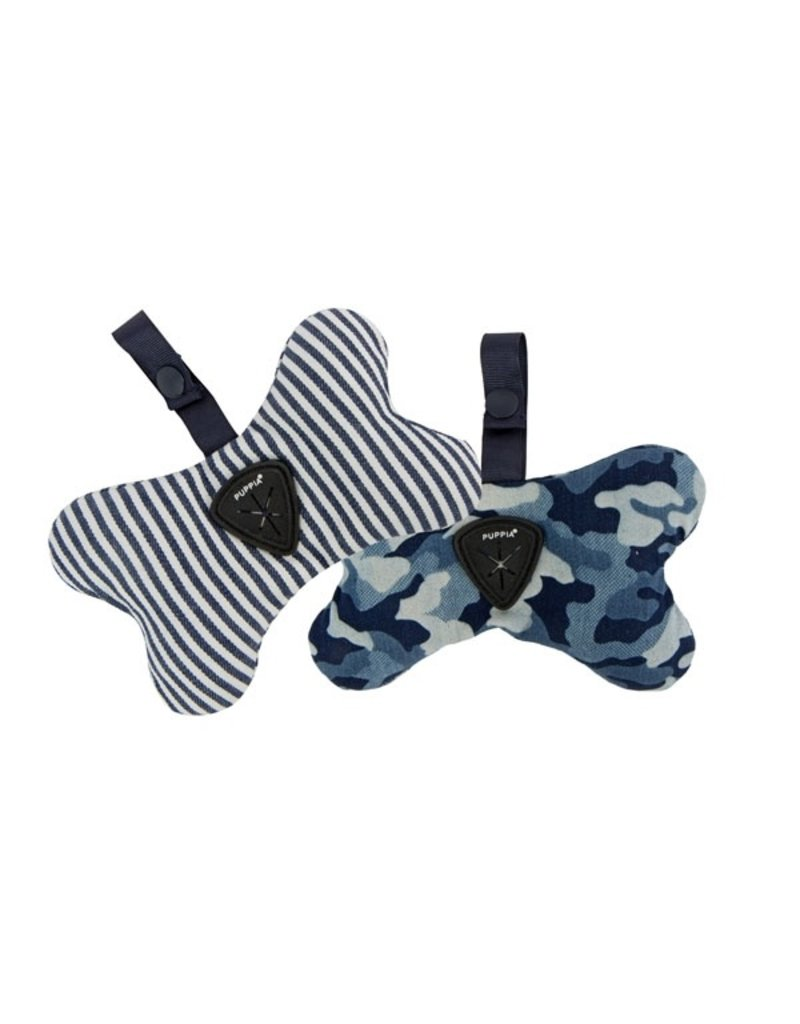 Puppia Puppia Bobby Waste Bag Dispenser Camo Navy