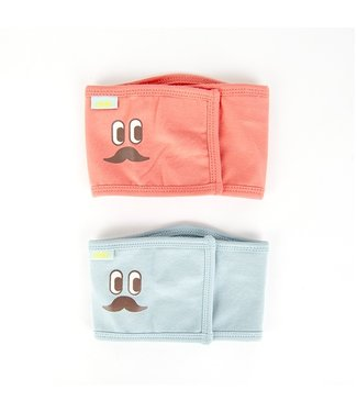 Puppia Puppia Olchi Mustache Manner Red