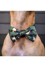 Big and Little Dogs Big and Little Dogs Halsband Green Camo