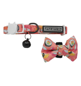 Little Kitty Little Kitty Cat Collar & Bow Tie Sashimi