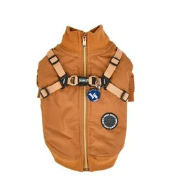 Puppia Puppia Dominic Jacket Harness Camel