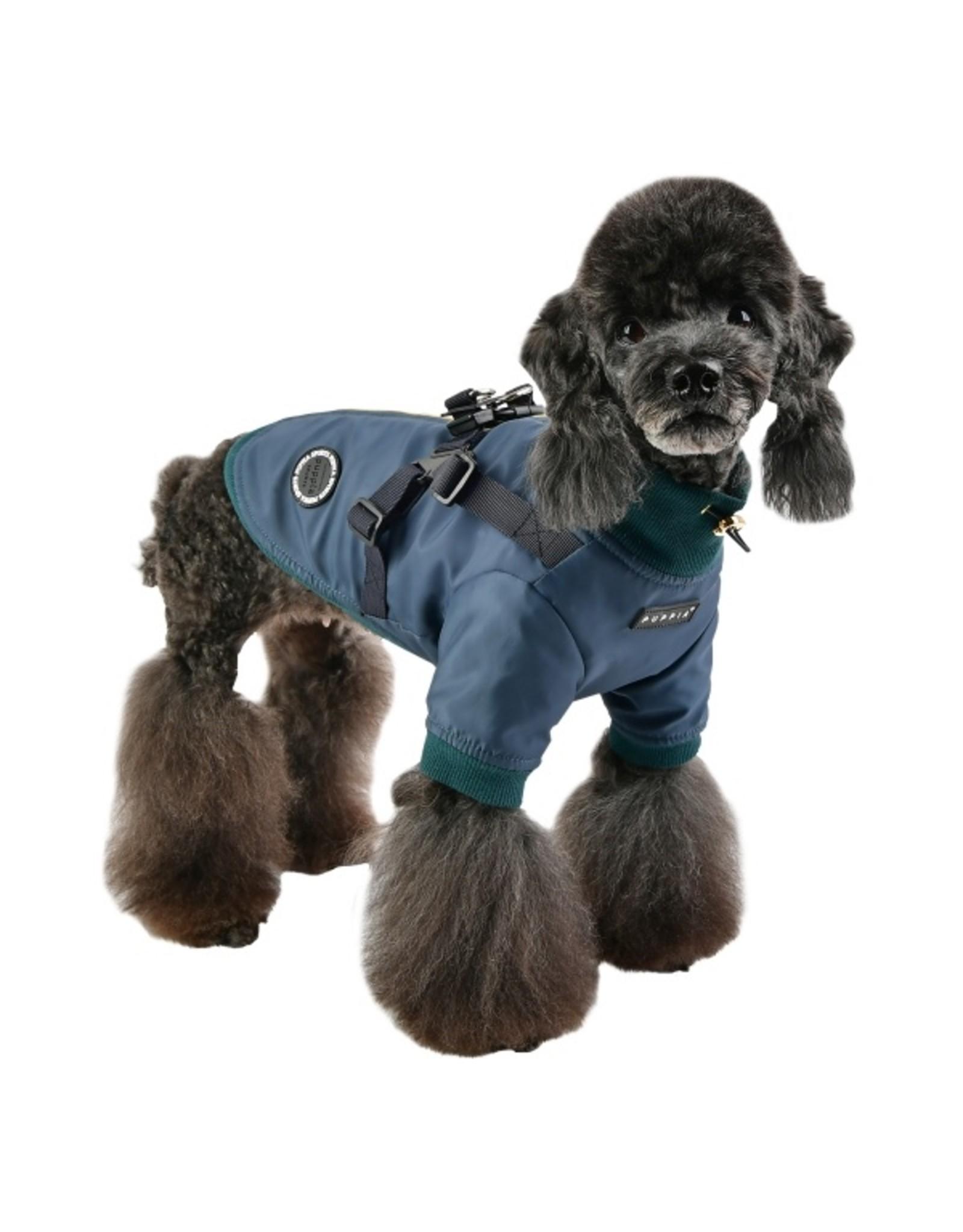 Puppia Puppia Dominic Jacket Harness Dark Teal