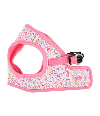 Puppia Puppia Harness model B Wildflower Pink (ALLEEN X-LARGE)