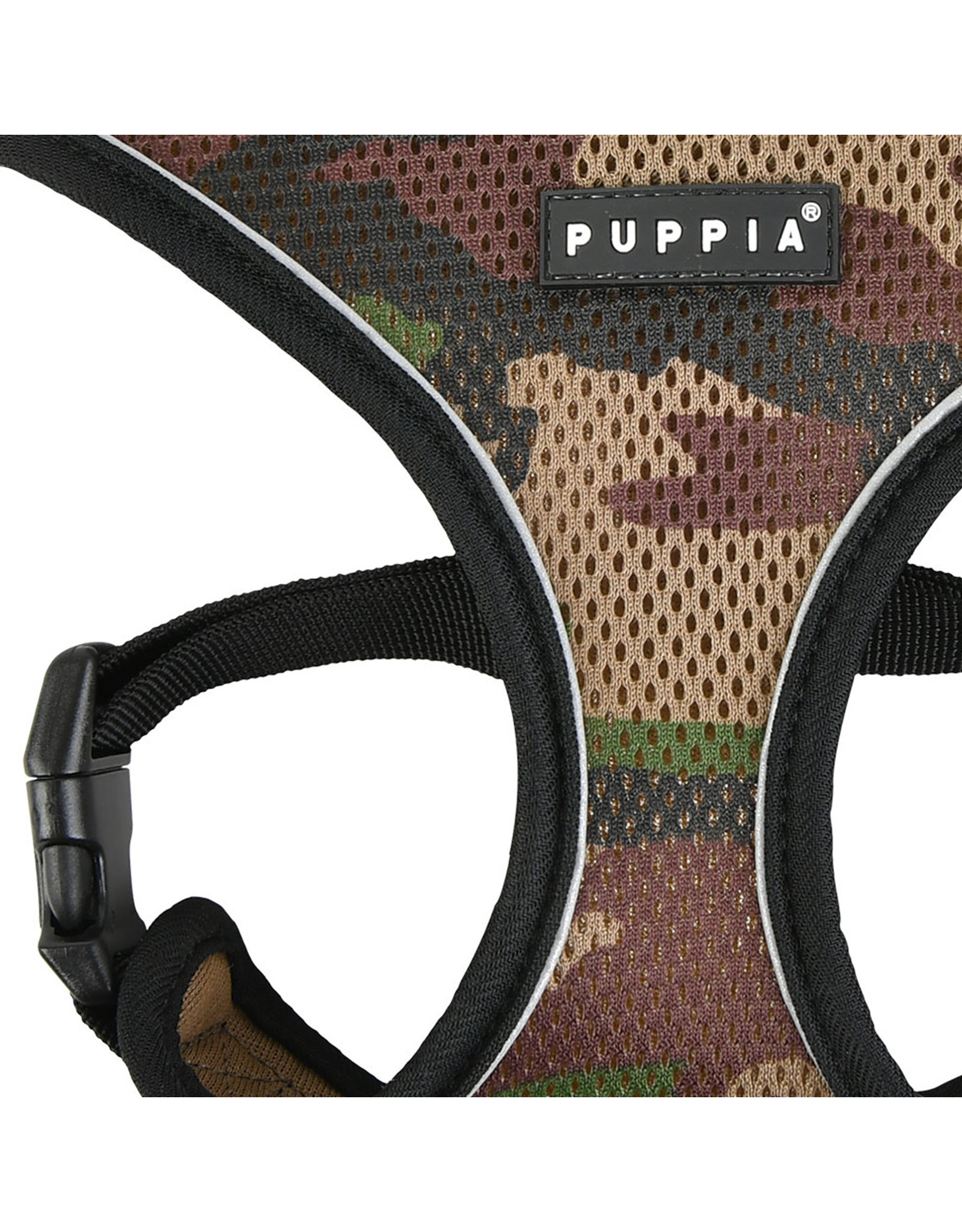 Puppia Puppia Soft Harness PRO model A Camo