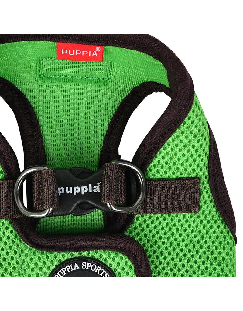 Puppia Puppia Soft Harness II model B Green