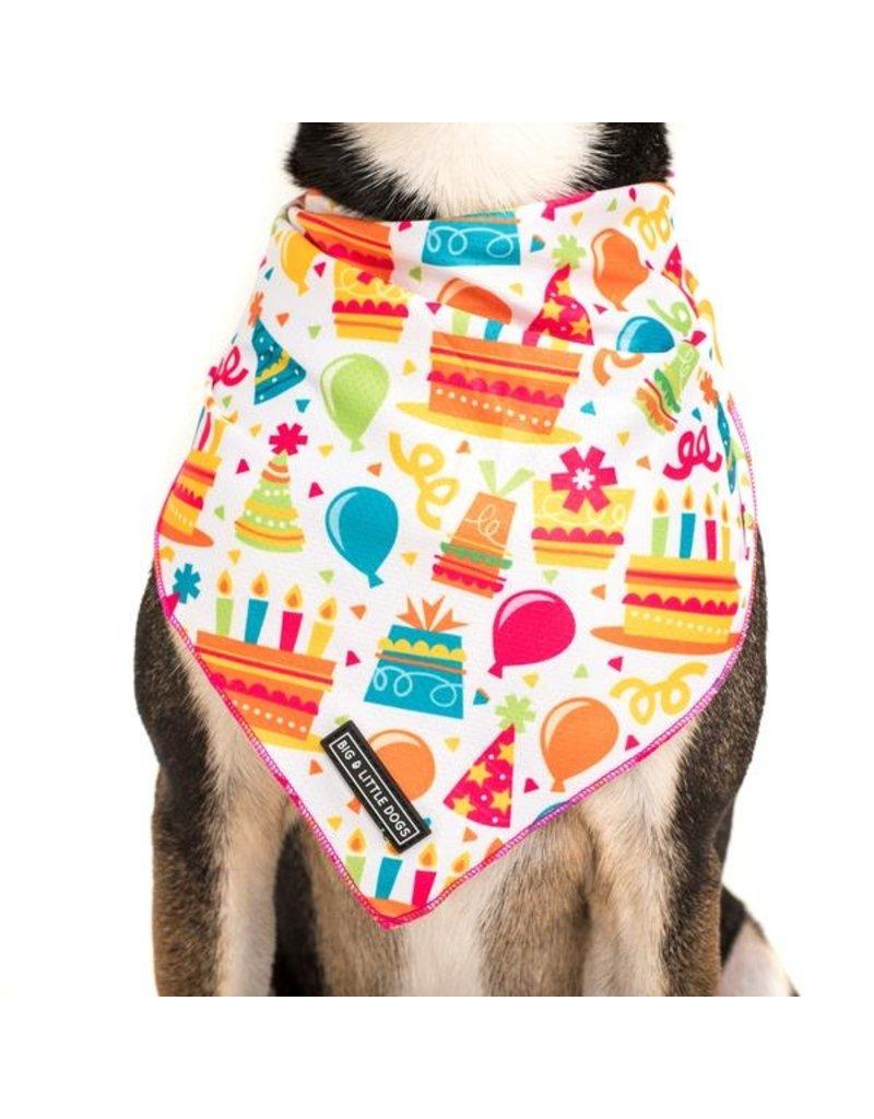 Big and Little Dogs Big  and Little dogs Bandana Birthday Cake
