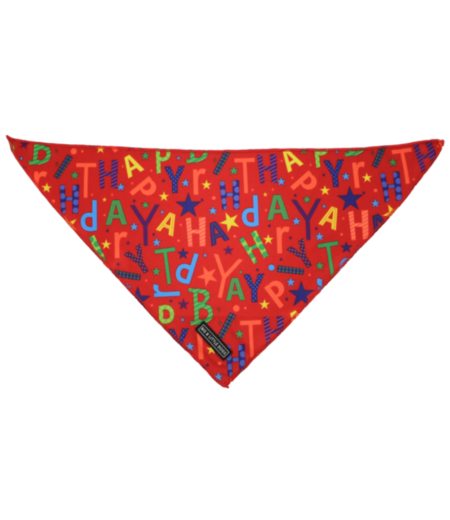Big and Little Dogs Big  and Little dogs Bandana Red Birthday