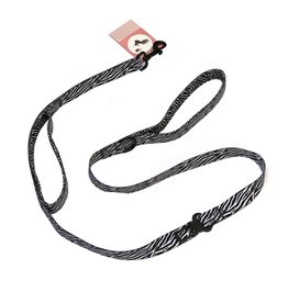 Frenkiez Frenkiez reflective dog leash zebra