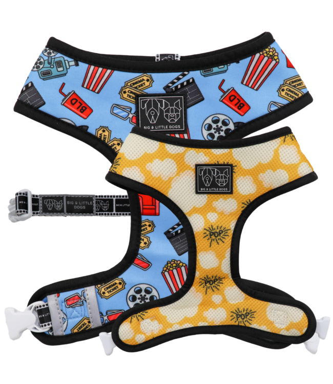 Big and Little Dogs Big and Little Dogs Reversible Lights, Camera, Action