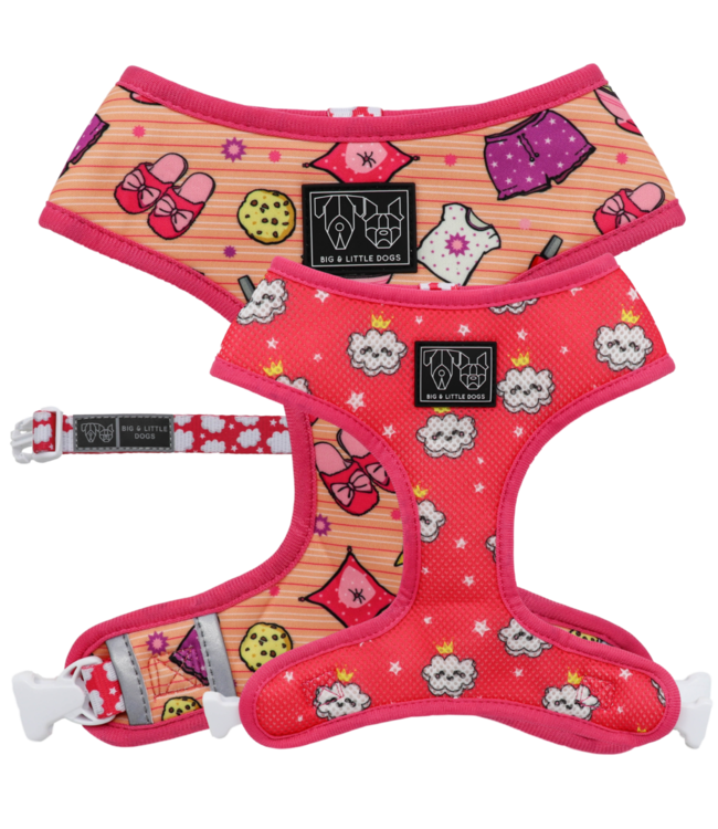 Big and Little Dogs Big and Little Dogs Reversible Slumber Party