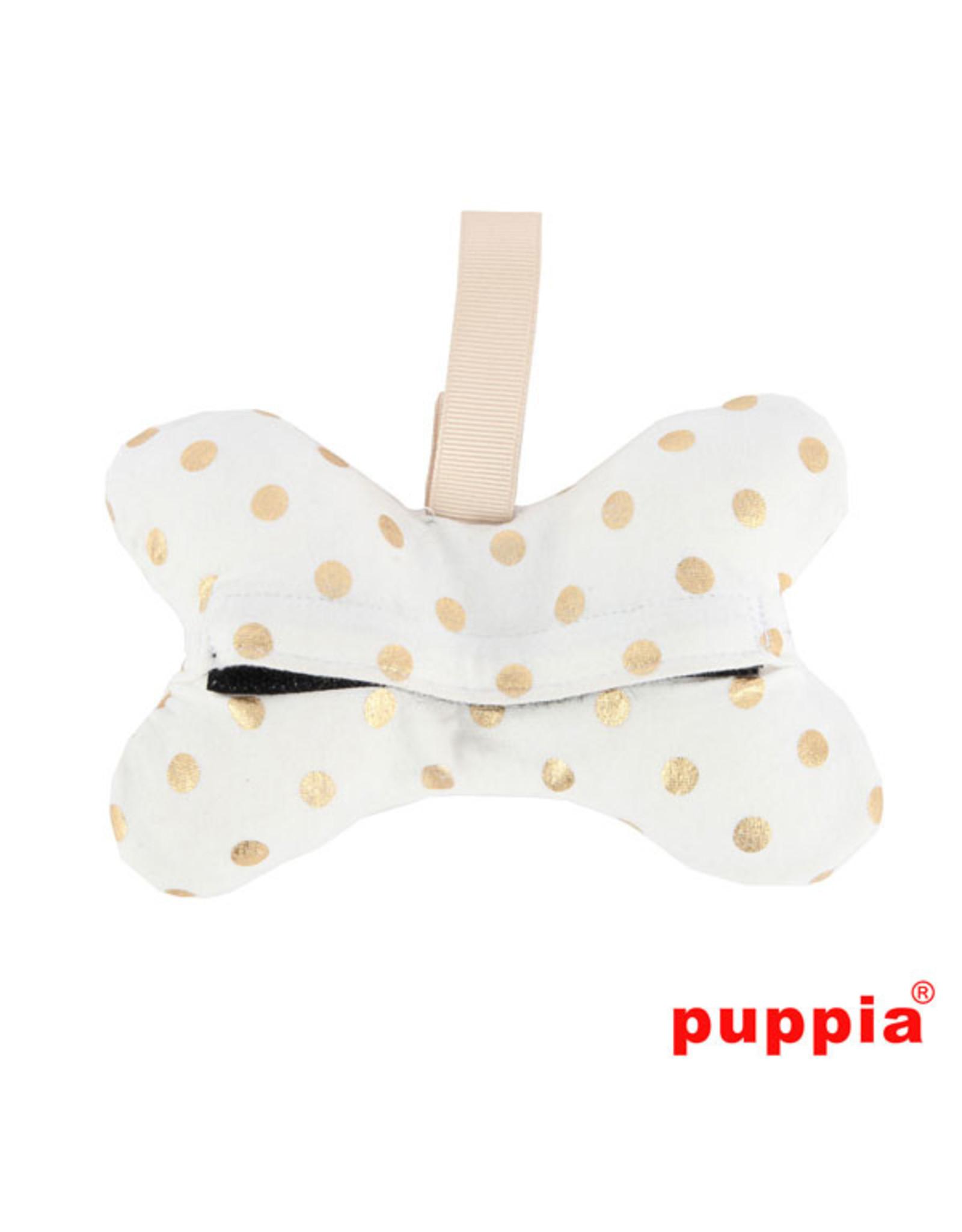Puppia Puppia Modern Dotty Waste Bag Dispenser Ivory
