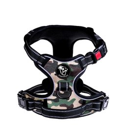 Frenkiez Frenkiez reflective no pull dog harness Camouflage