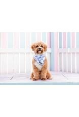 Big and Little Dogs Big  and Little dogs Bandana Blue Tie Dye
