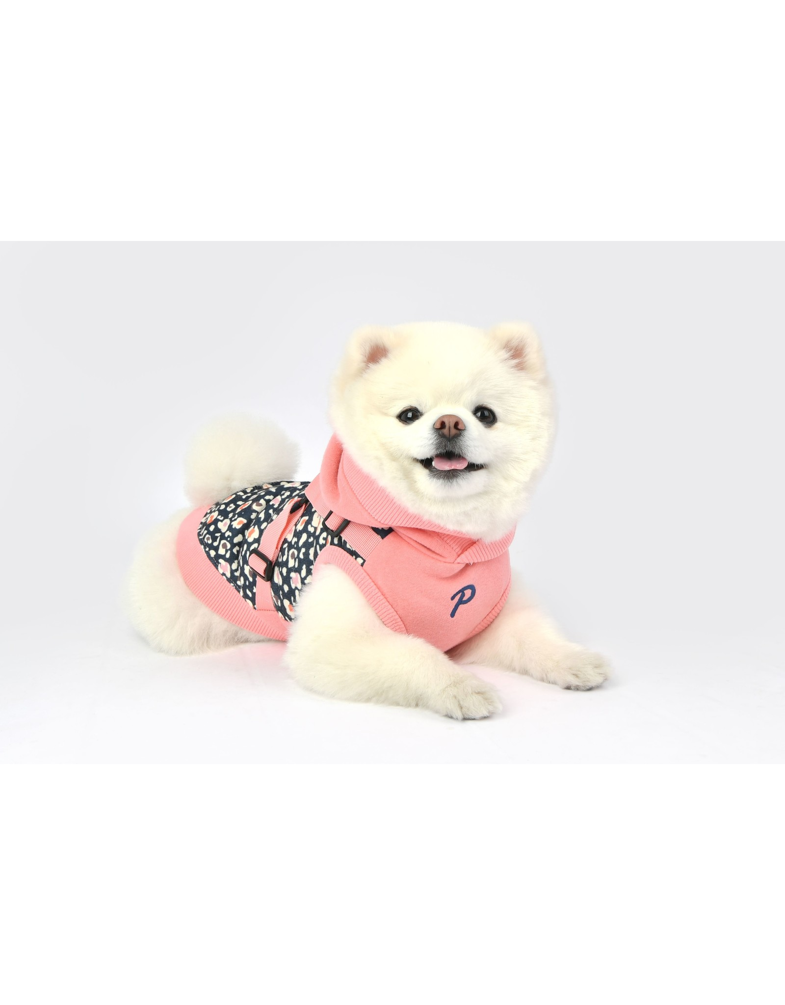 Puppia Puppia Elyse Jacket Harness Indian Pink