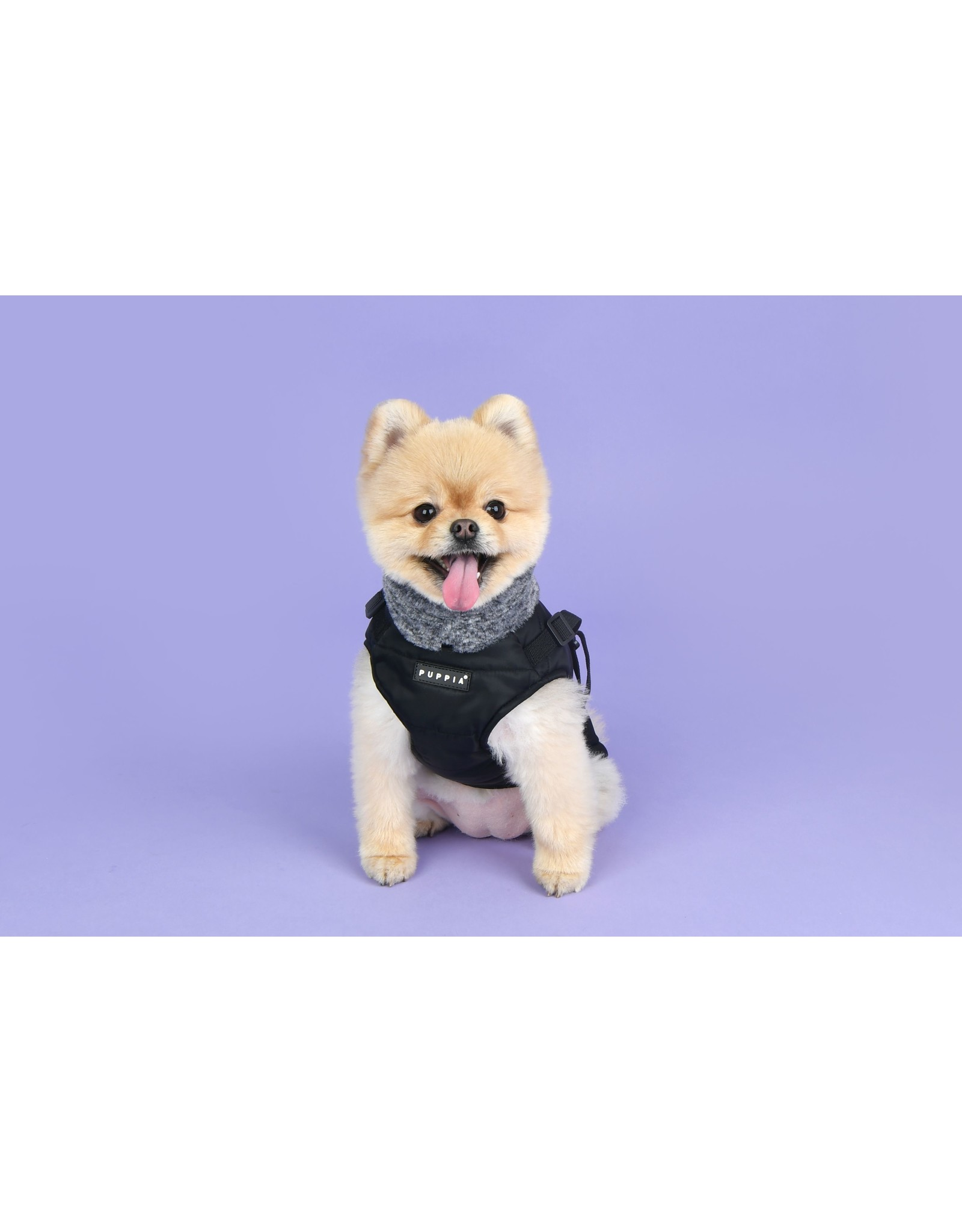 Puppia Puppia Donavan Jacket Harness Black