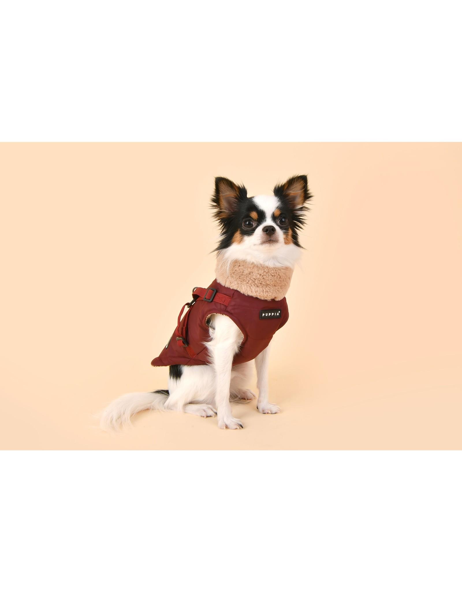 Puppia Puppia Donavan Jacket Harness Wine