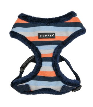 Puppia Puppia Bryson Harness Model A Navy