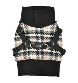 Puppia Puppia Sweater Harness J Kellen Black