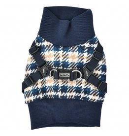 Puppia Puppia Sweater Harness J Kellen Navy