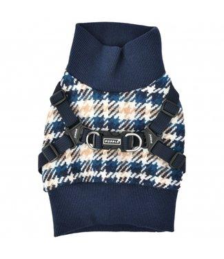 Puppia Puppia Sweater Harness J Kellen Navy