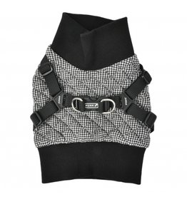 Puppia Puppia Sweater Harness J Gaspar Black