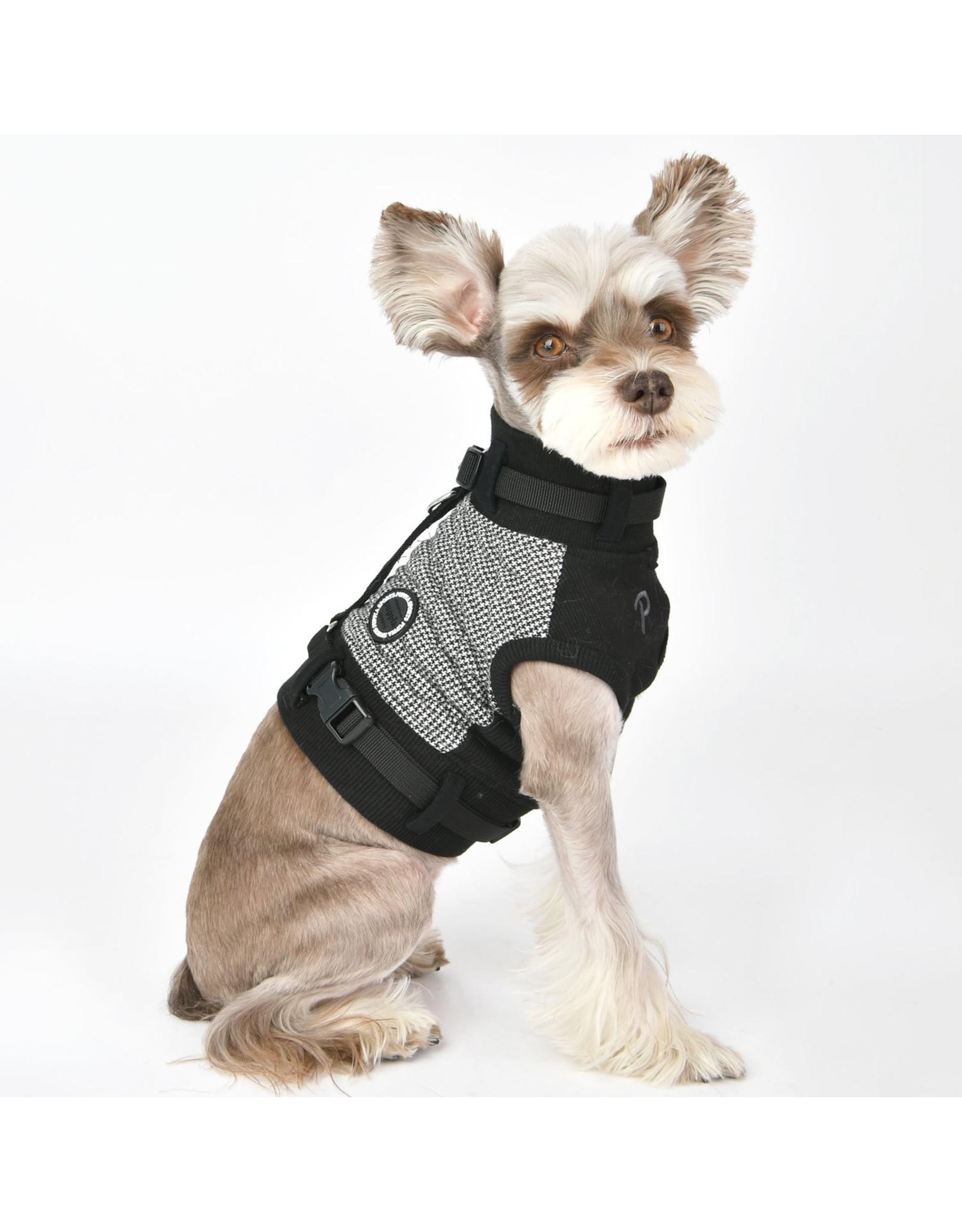 Puppia Puppia Sweater Harness J Gaspar Black