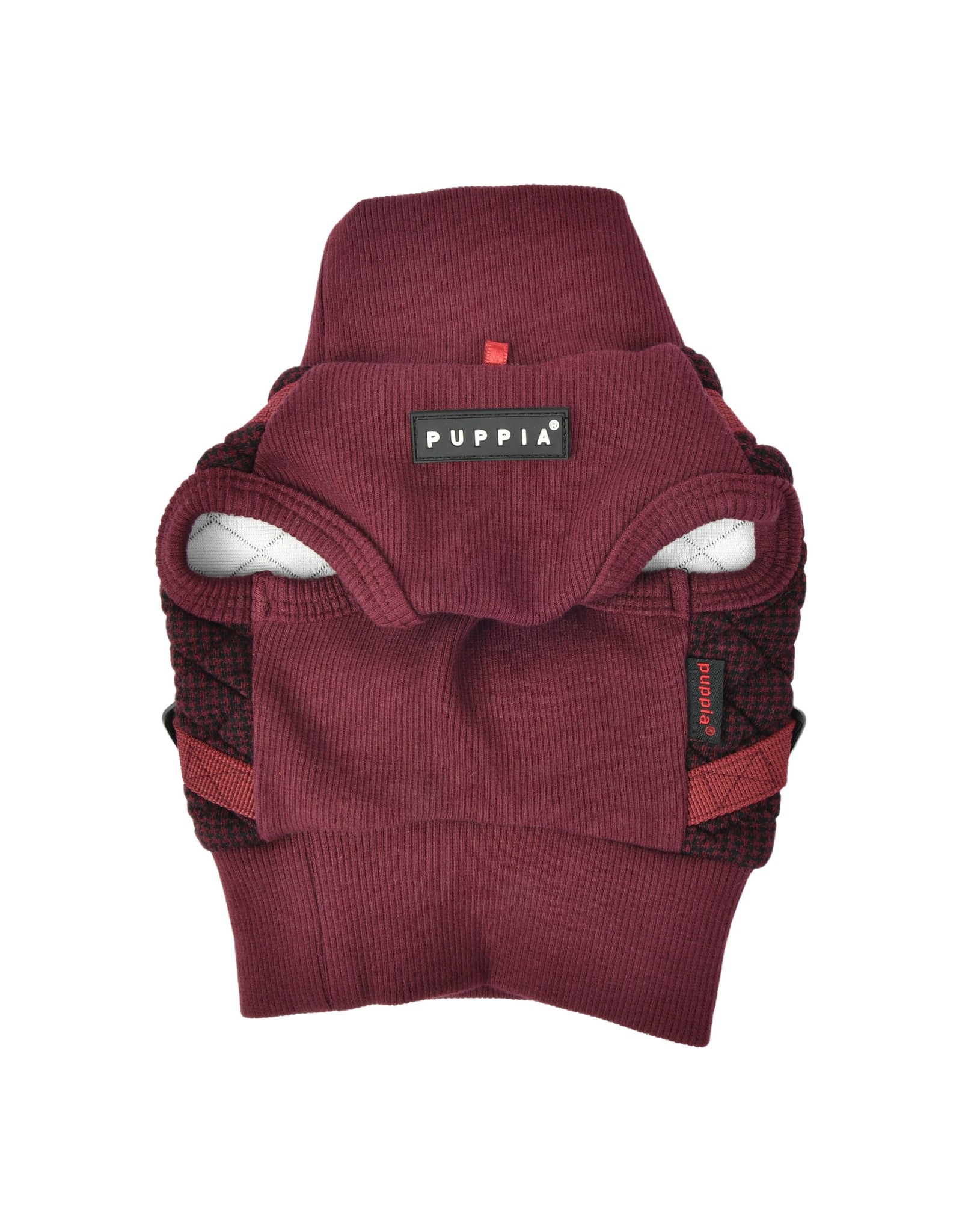 Puppia Puppia Sweater Harness J Gaspar Wine