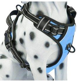 Frenkiez Frenkiez reflective no pull dog harness blue