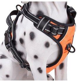Frenkiez Frenkiez reflective no pull dog harness orange
