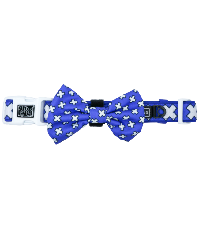 Big and Little Dogs Big and Little Dogs Halsband Blue X's
