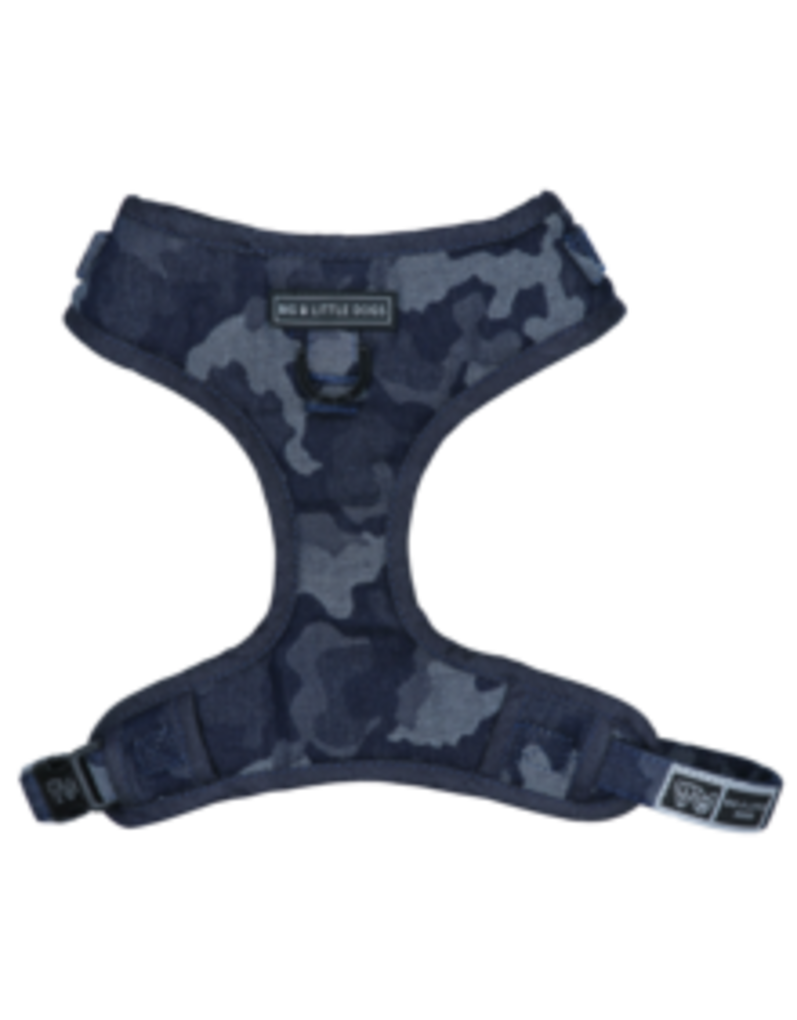 Big and Little Dogs Big and Little Dogs Adjustable Denim Camo