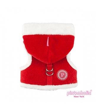 Pinkaholic Pinkaholic Santa Pinka Harness Red