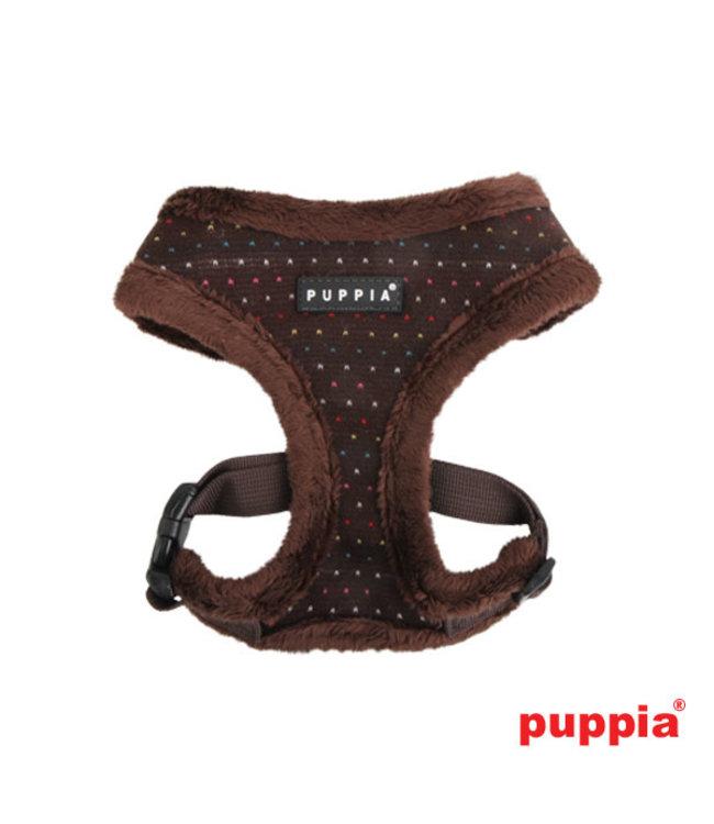 Puppia Puppia Yuppie Harness model A brown