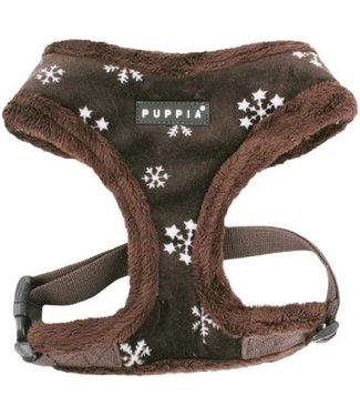 Puppia Puppia Snowflake Harness model A brown