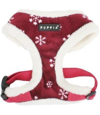 Puppia Puppia Snowflake Harness model A red