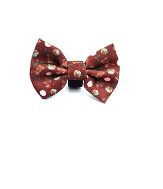 Frenkiez Frenkiez Bowtie Brown Gingerbread Man