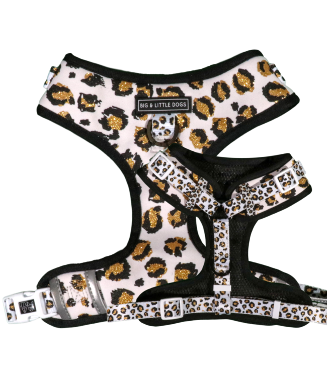 Big and Little Dogs Big and Little Dogs Adjustable Tis' The Season To Sparkle (With Real Glitter)