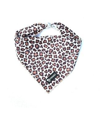 Frenkiez Frenkiez Cooling Bandana Brown Leopard