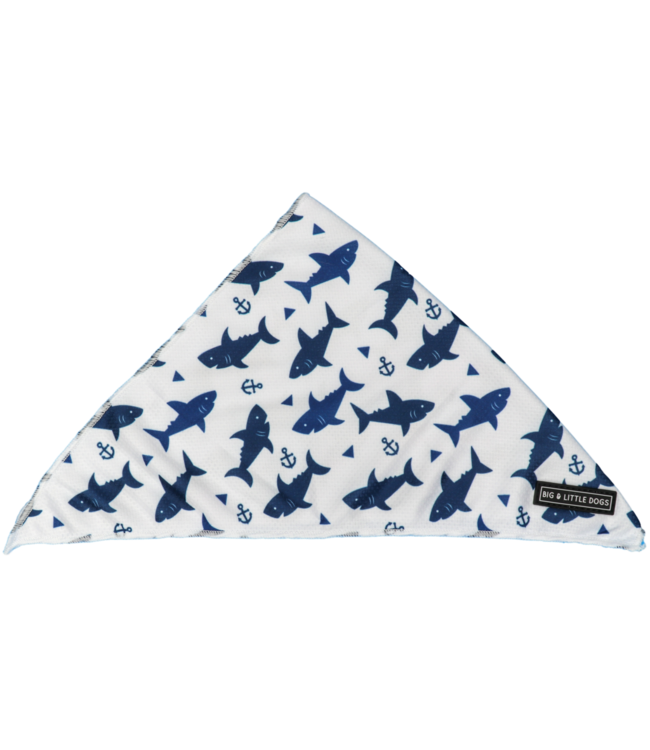 Big and Little Dogs Big  and Little dogs Bandana Shark Attack
