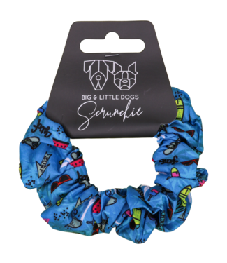 Big and Little Dogs Big and Little Dogs Surf's Up scrunchie