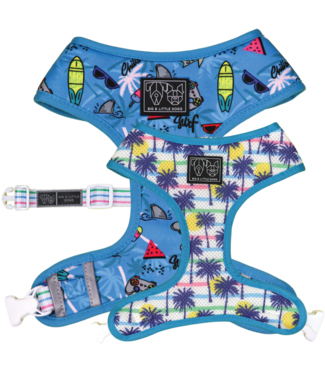 Big and Little Dogs Big and Little Dogs Reversible Surf's Up