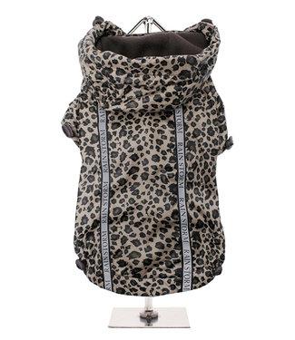 Urban Pup Urban Pup Rainstorm Rain Coat leopard print